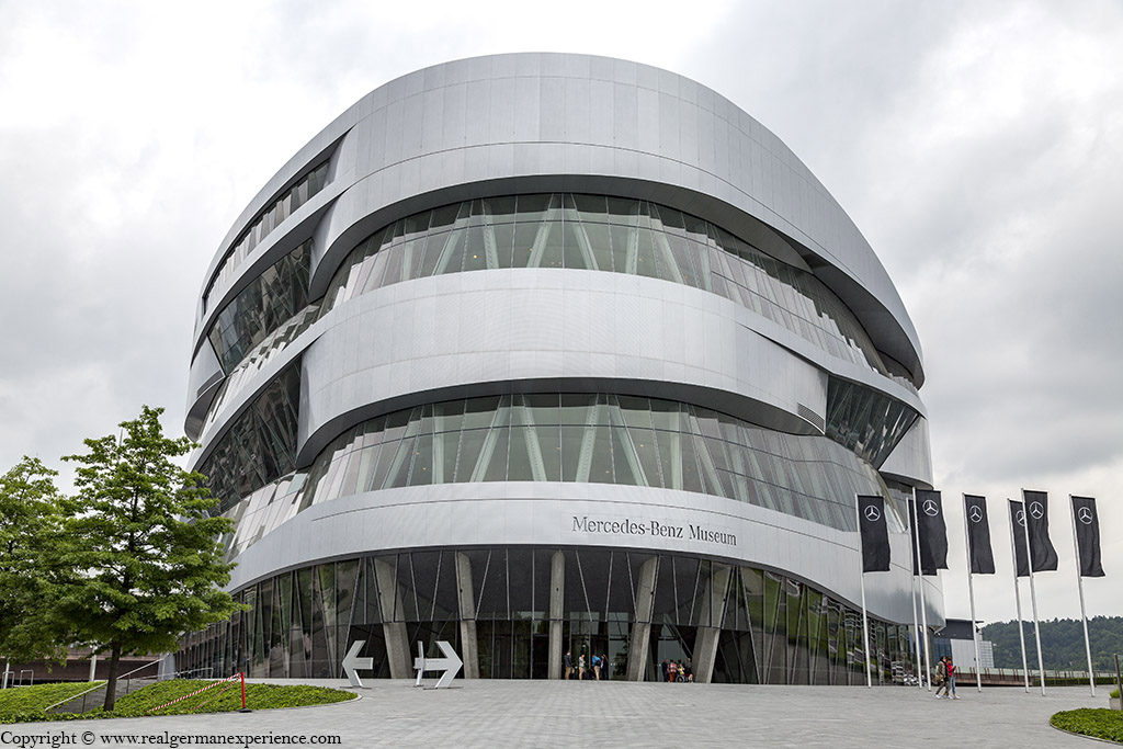 Mercedes-Benz Museum 1 thing to visit in Stuttgart, Germany