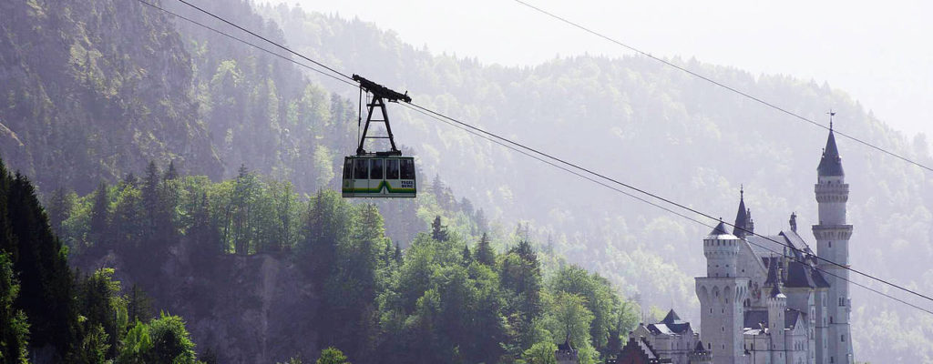 The Tegelberg Cable Car and Summer luge